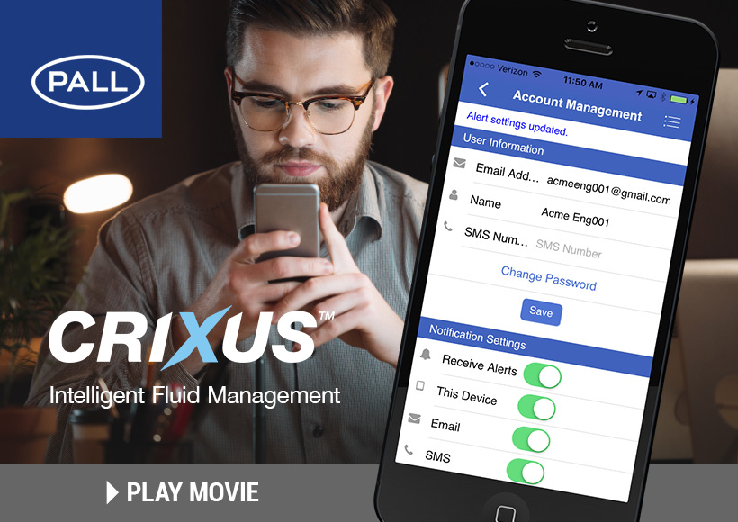 Pall - Crixus App movie